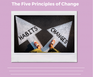 The Five Principles of Change